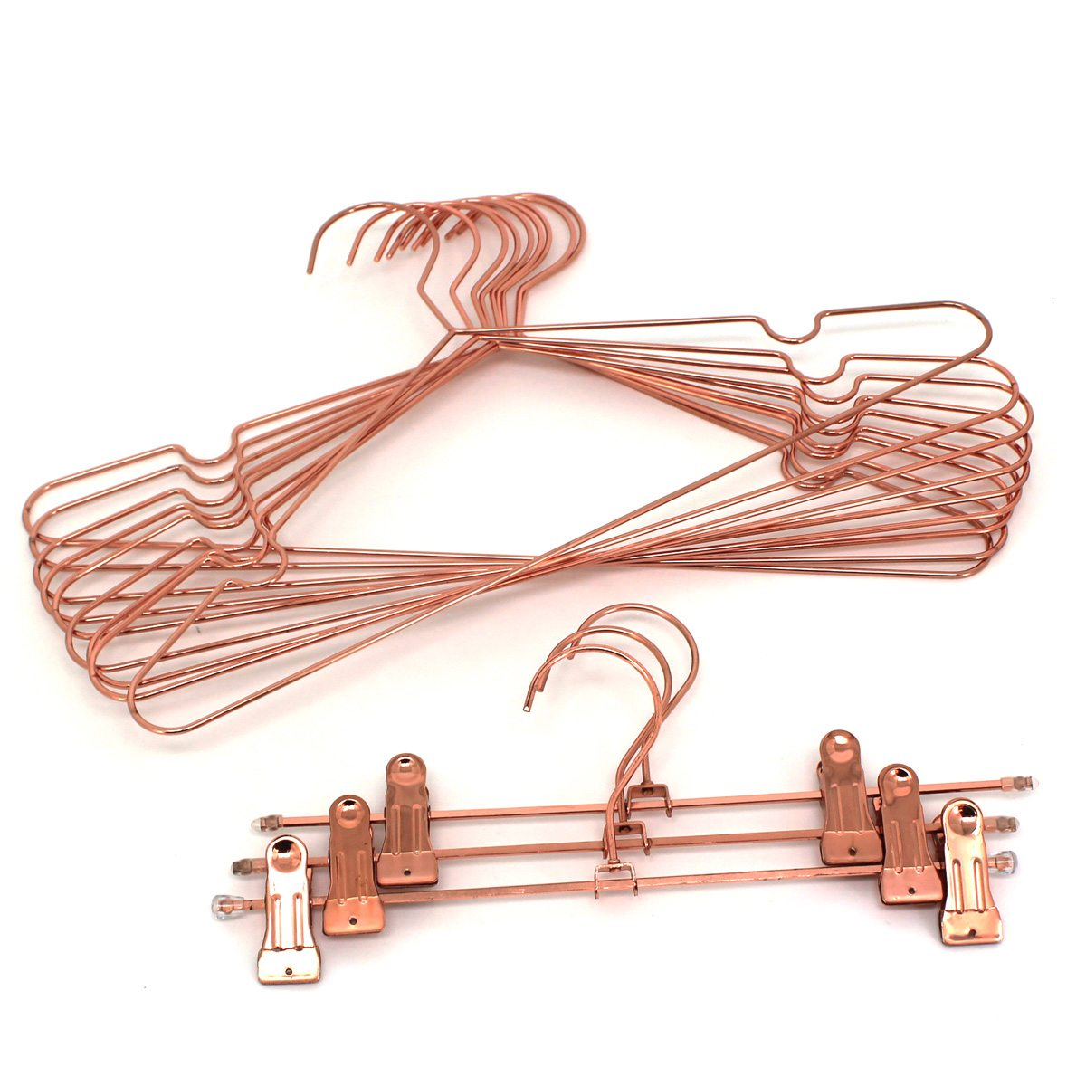 Shiny Copper Gold Wire Hanger